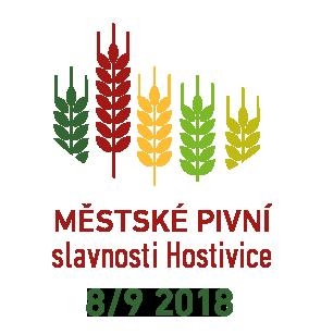MĚSTSKÉ PIVNÍ SLAVNOSTI HOSTIVICE 2018 - 8. září 2018